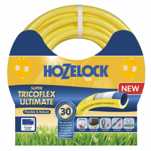 Hozelock Ultimate Phtalatfri gul 25mm x 50 meter