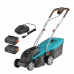 Gardena  battery lawnmower powermax™ 32/36v p4a ready-to-use set