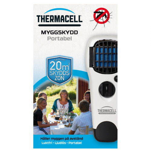 Thermacell Myggskydd Portabel Vit